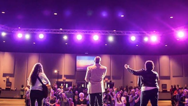 """Family Life Church hosts """"For America: Heal Our Land,"""" a prayer and music event Tuesday night."""
