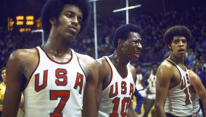 Team USA has still never accepted its silver medal from the 1972 Olympics men's basketball game.
