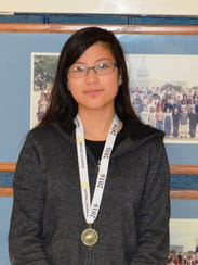 Kathie Liang, 7th grade student at Warren Middle School