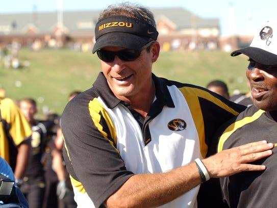 Missouri head coach Gary Pinkel in 2007.