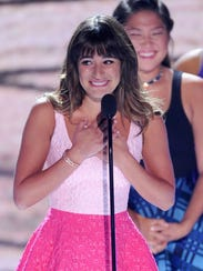 Lea Michele Teen Choice