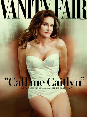 The Vanity Fair cover of Caitlyn Jenner.