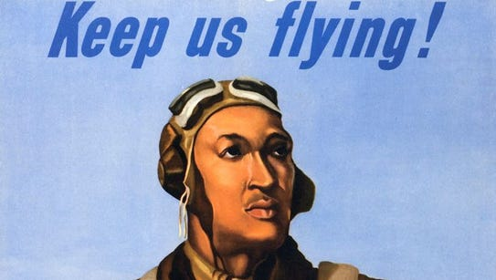 During World War II, the government put out this poster