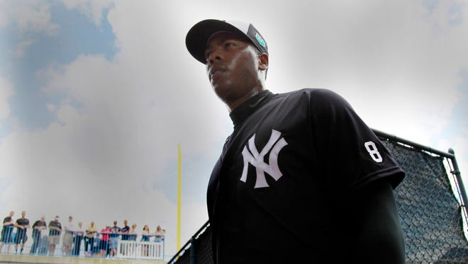 Aroldis Chapman was acquired in an offseason trade.