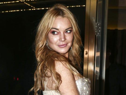 Harvey Weinstein Lindsay Lohan