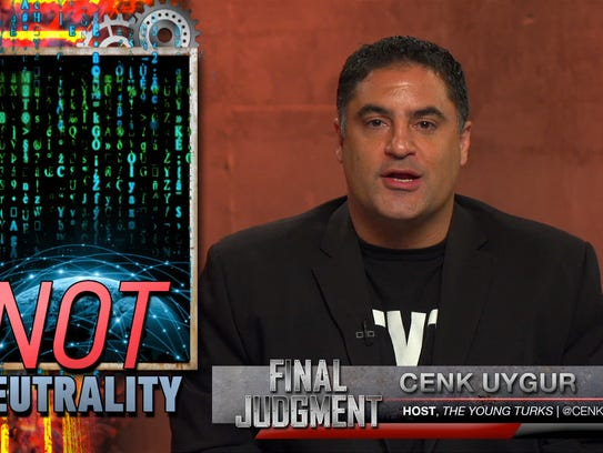 Cenk Uygur is featured on a new Facebook show called