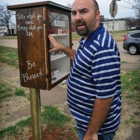 Blessing Box helps struggling families, the homeless
