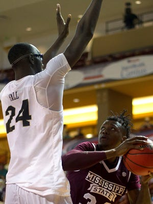UCF's Tacko Fall presented too much of an issue Mississippi State on Thursday.