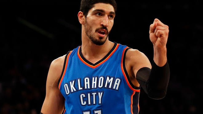 Enes Kanter will likely miss about 6-8 weeks.