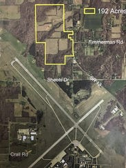 The city is selling about 192 acres near Mansfield