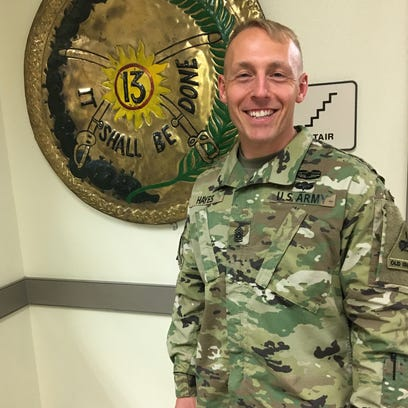 New 2-13 Cav leader excited about serving as role model for young soldiers