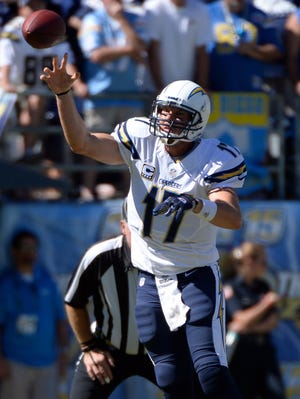 Philip Rivers threw three TDs for the Chargers.