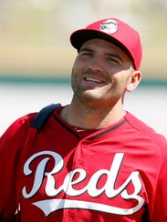 Reds first baseman Joey Votto  believes he could hit