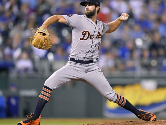 Detroit Tigers starting pitcher Daniel Norris.