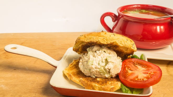 Get your fill of chicken sandwiches and soup at Cross Roads UMC.