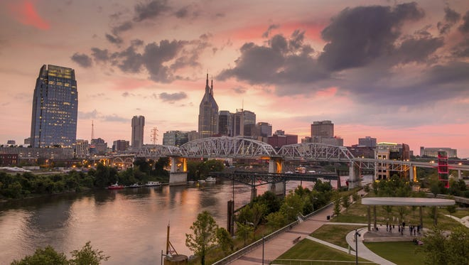 Nashville's downtown skyline.