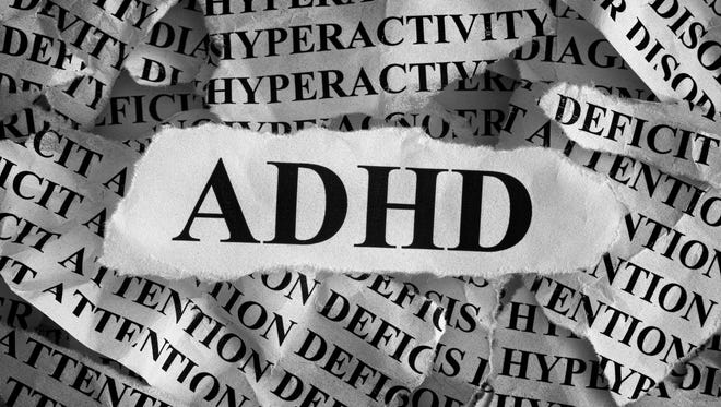 ADHD is attention deficit hyperactivity disorder.