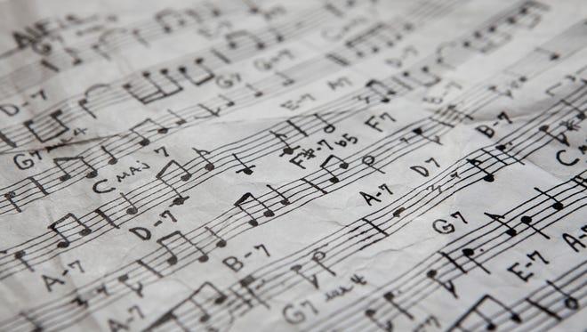 Full frame of compositional music