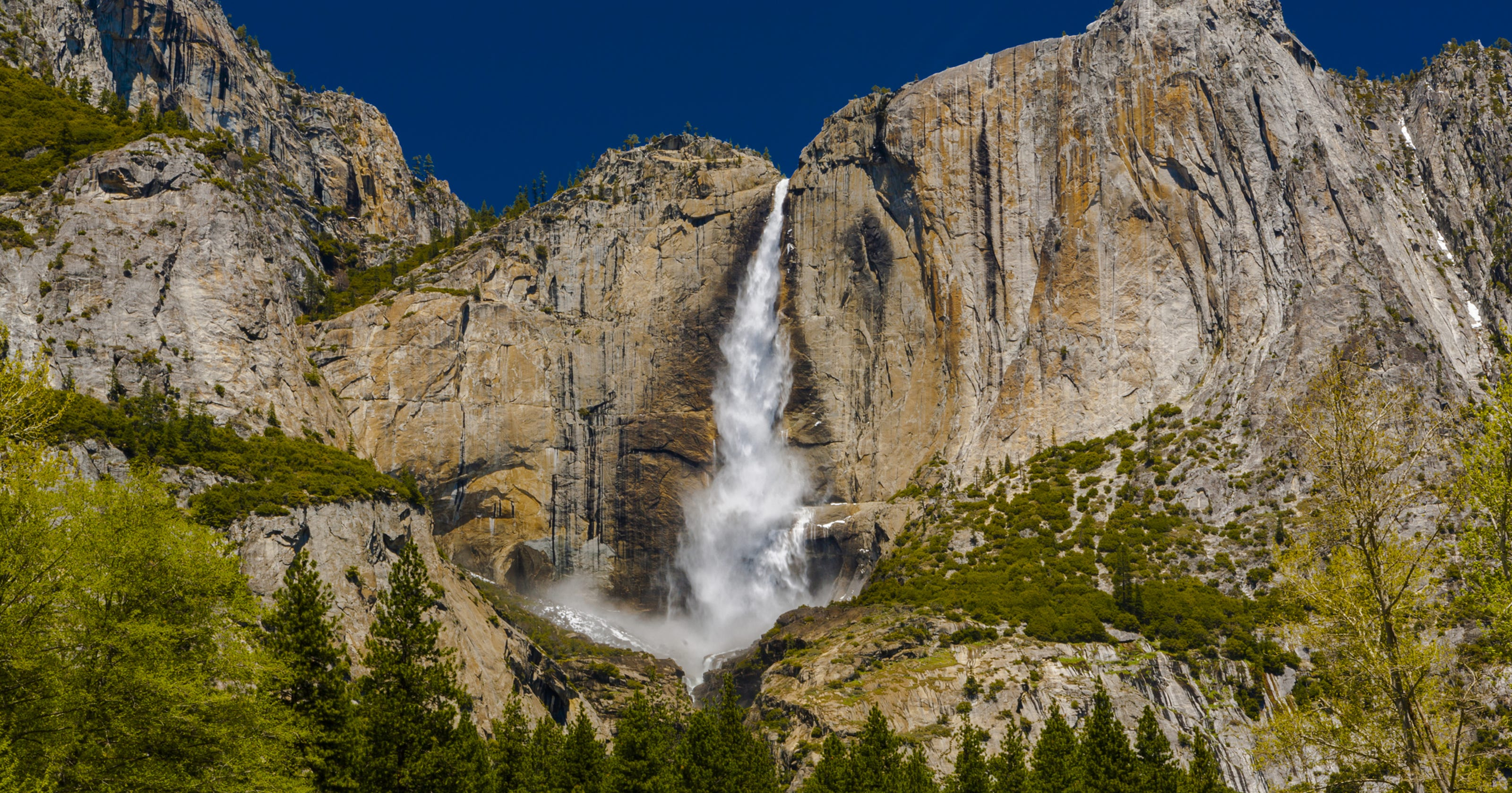 Waterfalls Are Roaring This Spring In Yosemite National Park