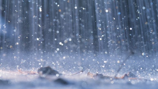 A rainy period is expected Wednesday through Friday, forecasts show.