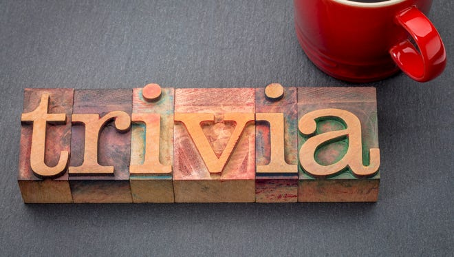 Teams of up to six players will compete Nov. 5 in Merrill Historical Society's Trivia Contest.