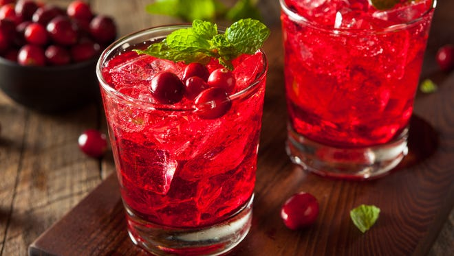 Cranberries can taste pretty well in your glass as well as your Thanksgiving plate.
