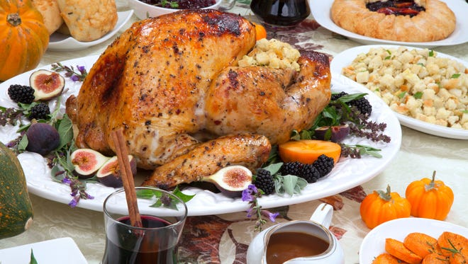 The Arizona Farm Bureau says the average cost of a turkey and trimmings for Thanksgiving dinner in Arizona is down from last year.