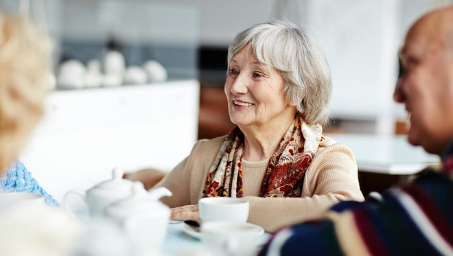 Among seniors, social networks play an important role in cognitive function.
