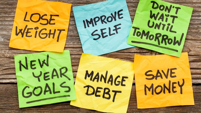 There are a bunch of low-hanging-fruit resolutions that can be achieved in a matter of hours, if not less, that can improve your financial situation.