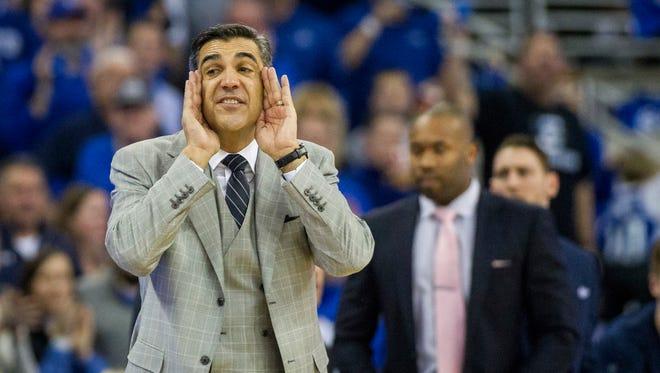 Head coach Jay Wright has his Villanova as a top seed in the NCAA Tournament preliminary rankings