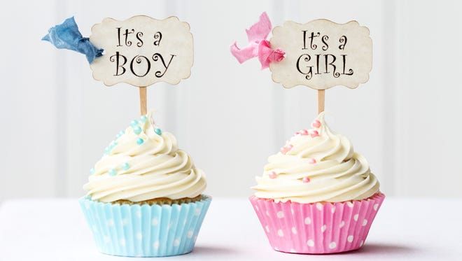 Cupcakes for a girl and boy