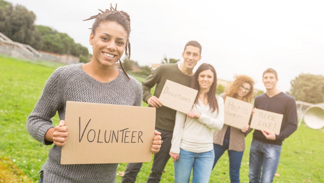 Volunteering does not have to cost you money.