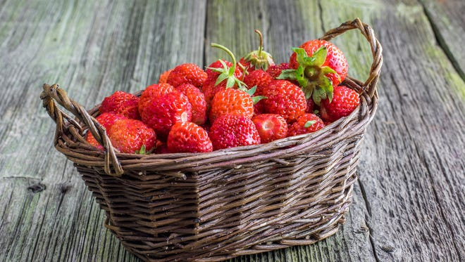 Strawberries top the list of the Environmental Working Group's Dirty Dozen.