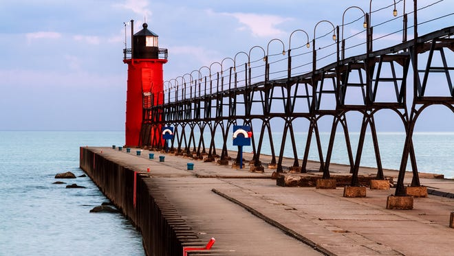 The South Haven Lighthouse