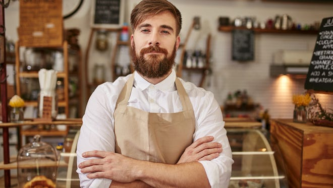 Every barista or bartender seems to have a beard these days.