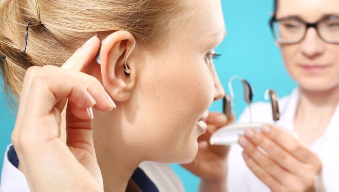 Modern hear aids are almost undetectable.