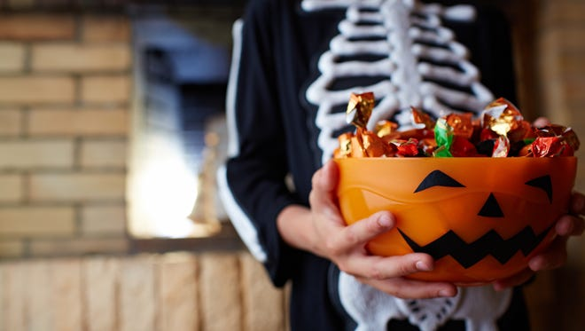 Is this year the end of trick-or-treating for son?