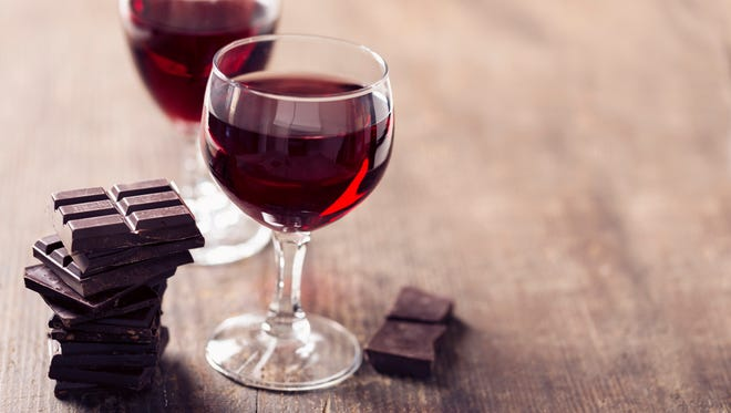 Red wine with chocolate isn't  an automatic pairing. Some red wines work better than others.
