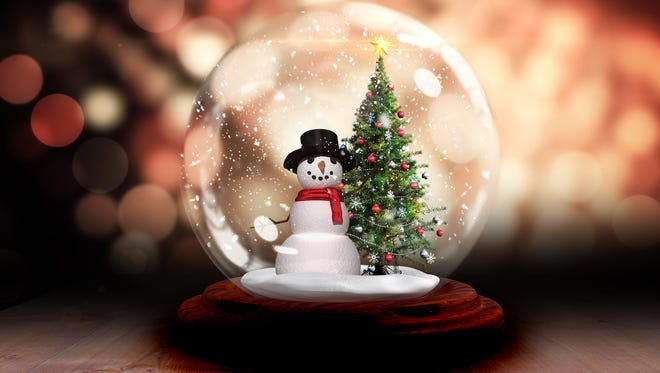 A snow globe might offer San Angelo its only white Christmas this year.