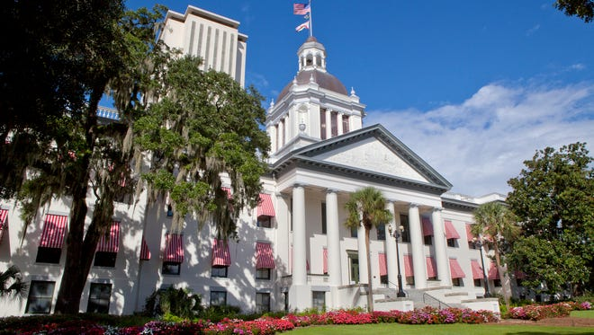 The old Florida State Capitol building.
