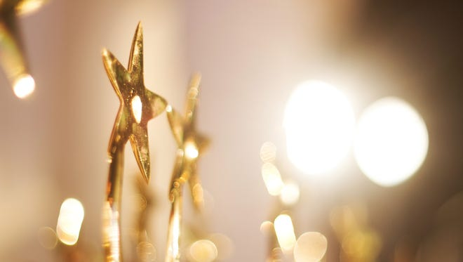 star Trophies for the winner