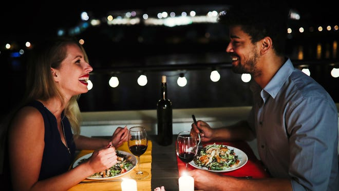 Easily find a place for a romantic dinner.