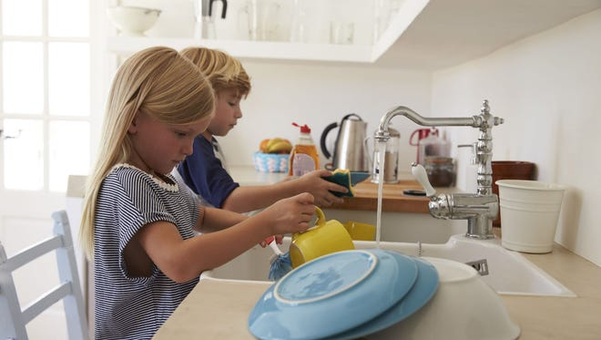 Boys earn twice as much as girls for doing chores, found BusyKid.com.