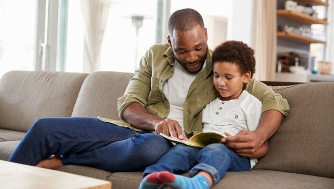 Rereading the same books together unlocks a child's curiosity.   Getty Images Rereading the same books together unlocks a child's curiosity.