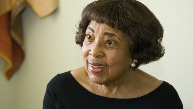 Ithaca resident Dorothy Cotton was awarded the National Freedom Award on Oct. 6t, 2010 in Memphis.