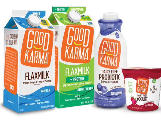 Dean Foods made the announced earlier this month that it has taken a majority stake inGood Karma Foods,the leading brand of flaxseed-based milk and yogurt alternatives.