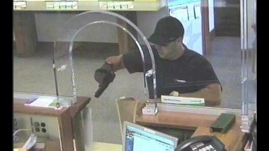 Harrison Township Police were dispatched Aug. 21 to Susquehanna Bank on Mullica Hill Road for reports of an armed robbery.