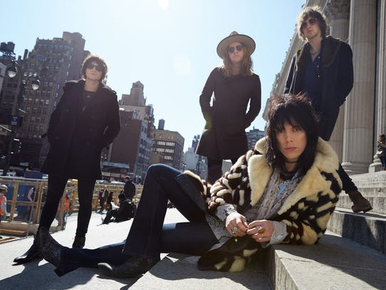The Struts will perform May 15 at Deluxe in Old National