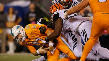 Bengals notes: DL dominant, Nugent perfect, Green redeems