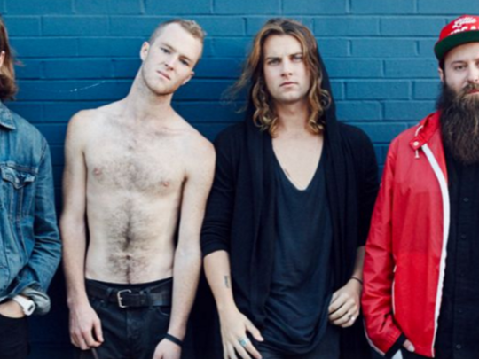 Earnest rock band Judah & The Lion will perform at Kroger's Fest-a-Ville on the Waterfront.